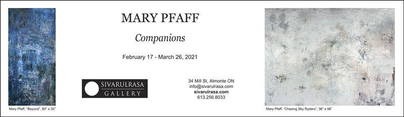 Featured image for Exhibition: Mary Pfaff's paintings