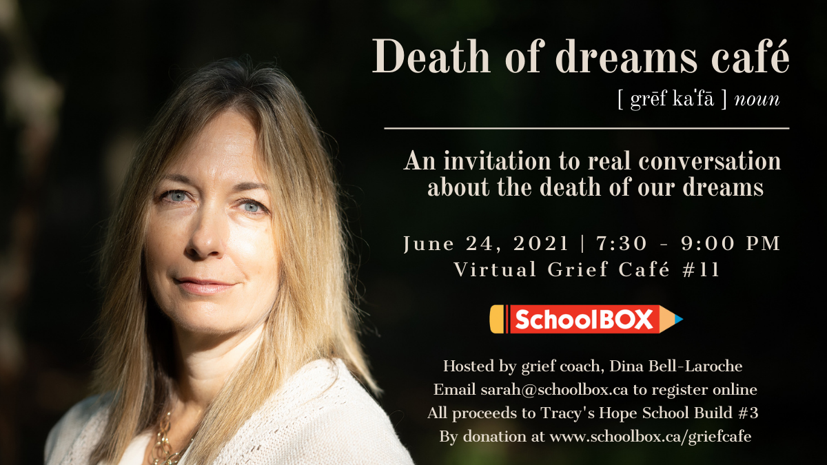 Featured image for Death of Dreams at the Grief Café