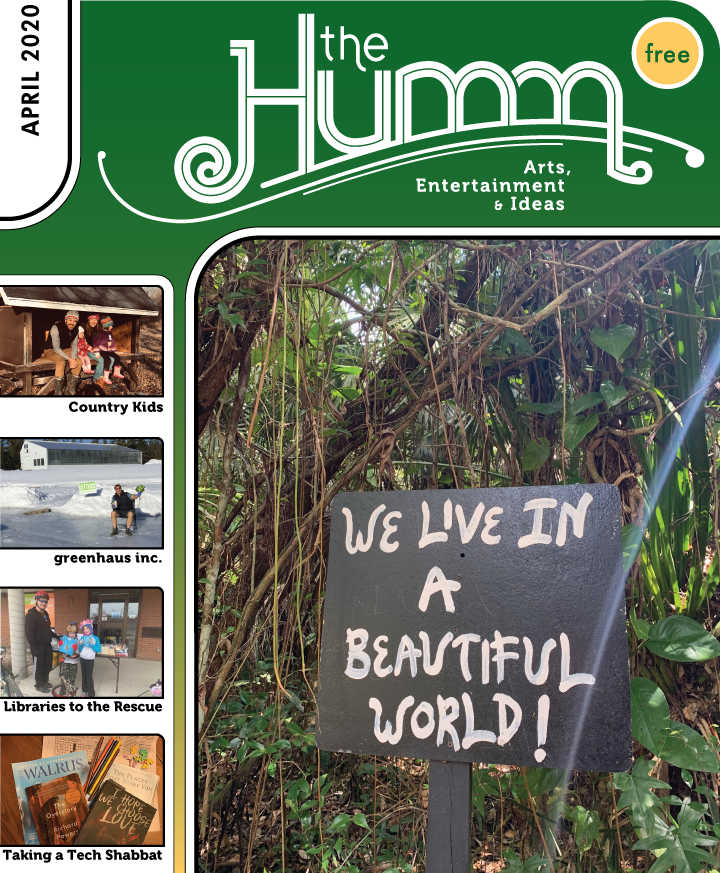 theHumm in print April 2020