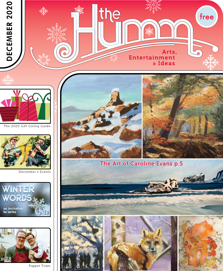 theHumm in print December 2020