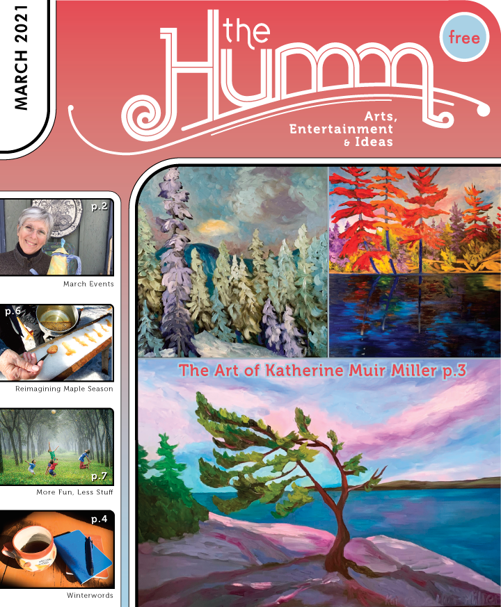 theHumm in print March 2021