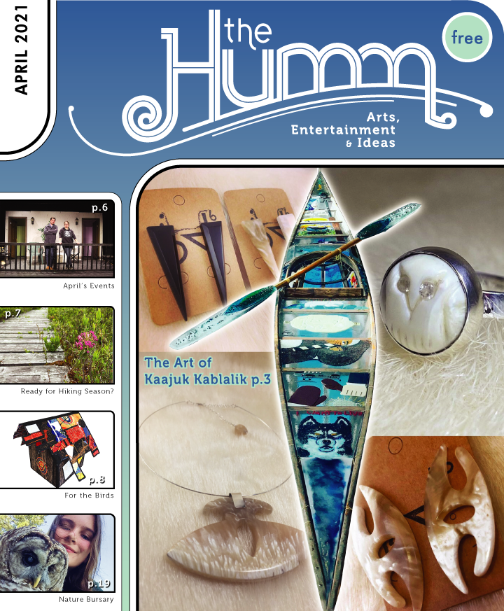 theHumm in print April 2021