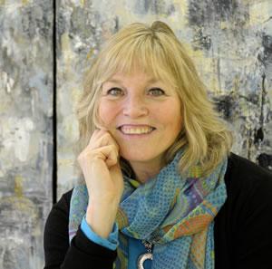 Artist Mary Pfaff